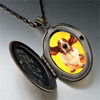 Necklace & Pendants - basset hound big ears pendant necklace Image.