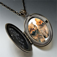 Necklace & Pendants - chow twins pendant necklace Image.