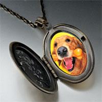 Necklace & Pendants - golden retriever bone pendant necklace Image.