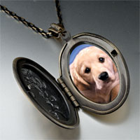 Necklace & Pendants - white puppy photo pendant necklace Image.