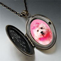 Necklace & Pendants - pink poodle pendant necklace Image.