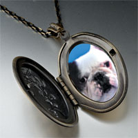 Necklace & Pendants - bull dog pendant necklace Image.