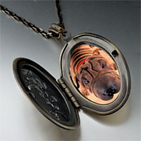 Necklace & Pendants - wrinkly dog pendant necklace Image.