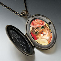 Necklace & Pendants - cat bouquet pendant necklace Image.