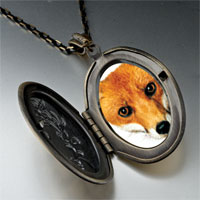 Necklace & Pendants - red fox pendant necklace Image.