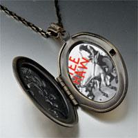 Necklace & Pendants - yee haw cowboy pendant necklace Image.