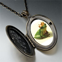 Necklace & Pendants - frog prince pendant necklace Image.