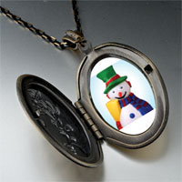 Necklace & Pendants - necklace plastic christmas gifts snowman pendant necklace Image.