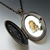 Necklace & Pendants - angel ornament pendant necklace Image.