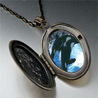 Necklace & Pendants - killer whale show pendant necklace Image.