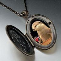 Necklace & Pendants - prairie dog drink pendant necklace Image.