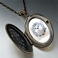 Necklace & Pendants - puffball grey stripes cat pendant necklace Image.