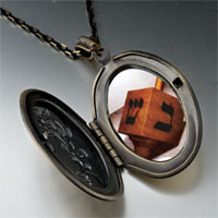 Necklace & Pendants - day hanukkah dreidel pendant necklace Image.