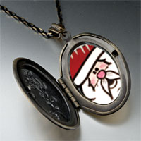 Necklace & Pendants - surprised santa pendant necklace Image.