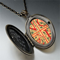 Necklace & Pendants - noel quilt square pendant necklace Image.