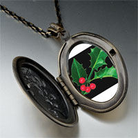 Necklace & Pendants - holly leaf photo pendant necklace Image.