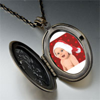 Necklace & Pendants - baby santa pendant necklace Image.