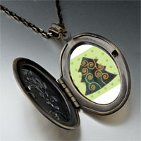Necklace & Pendants - christmas pendants swirl christmas tree gifts pendant necklace Image.