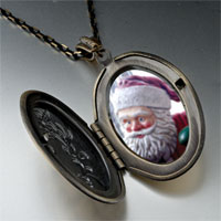 Necklace & Pendants - santa statue pendant necklace Image.