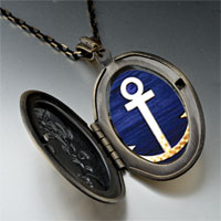 Necklace & Pendants - anchor symbol pendant necklace Image.