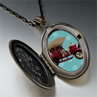 Necklace & Pendants - miniature antique car pendant necklace Image.