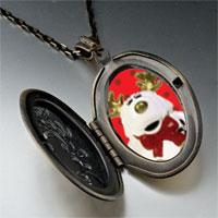 Necklace & Pendants - christmas rudolph reindeer stuffed animal pendant necklace Image.