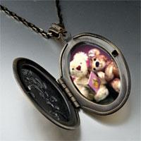 Necklace & Pendants - teddy bear story time pendant necklace Image.