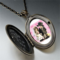 Necklace & Pendants - little bride &  groom pendant necklace Image.