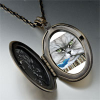 Necklace & Pendants - bad cat pendant necklace Image.