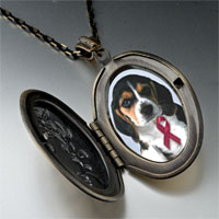 Necklace & Pendants - puppy wearing red ribbon pendant necklace Image.