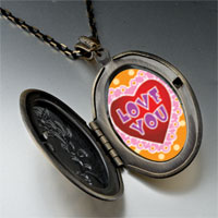 Necklace & Pendants - love pink pendant necklace Image.