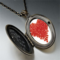 Necklace & Pendants - red hots heart pendant necklace Image.