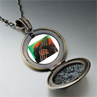 Necklace & Pendants - violin string music photo locket pendant necklace Image.