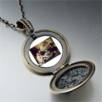 Necklace & Pendants - manet luncheon grass art photo locket pendant necklace Image.