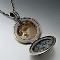 Necklace & Pendants - michelangelo david head photo locket pendant necklace Image.