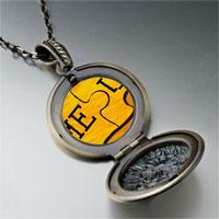 Necklace & Pendants - puzzle photo locket pendant necklace Image.