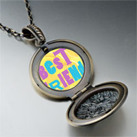 Necklace & Pendants - best friends colorful photo locket pendant necklace Image.