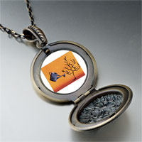 Necklace & Pendants - water tree photo locket pendant necklace Image.