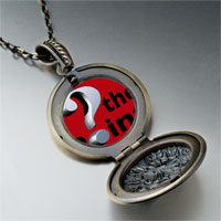 Necklace & Pendants - whats point red photo locket pendant necklace Image.