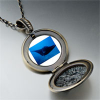 Necklace & Pendants - ocean stingray photo locket pendant necklace Image.