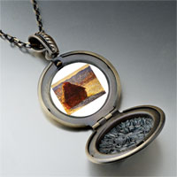 Necklace & Pendants - monet wheatstack photo locket pendant necklace Image.