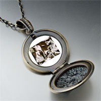 Necklace & Pendants - picasso guernica art photo locket pendant necklace Image.