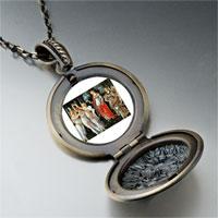 Necklace & Pendants - botticelli primavera art photo locket pendant necklace Image.