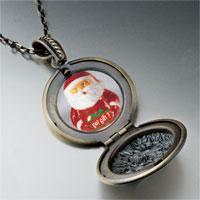 Necklace & Pendants - santa clause got gift photo locket pendant necklace Image.