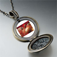 Necklace & Pendants - christmas ornament glitter balls photo locket pendant necklace Image.