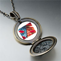 Necklace & Pendants - usa flag mask pendant necklace Image.