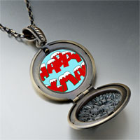 Necklace & Pendants - happy xmas pendant necklace Image.