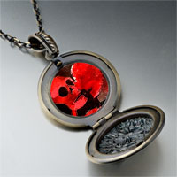 Necklace & Pendants - halloween death skeleton pendant necklace Image.
