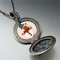 Necklace & Pendants - necklace puppy christmas gifts snowman pendant necklace Image.