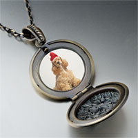 Necklace & Pendants - shaggy santa dog pendant necklace Image.